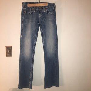 Women's true religion jeans Sz 26 inseam 31